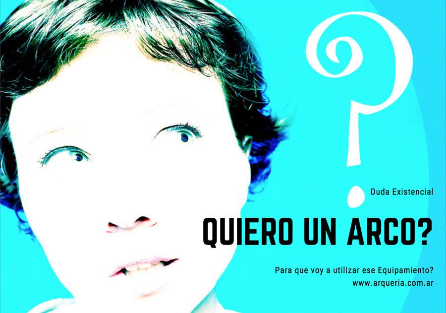 FINALIDAD COMPRAR ARCO Y FLECHA